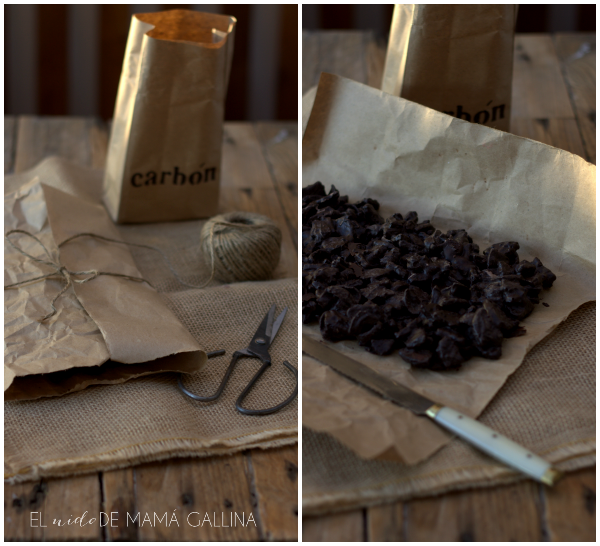 chocolate coal