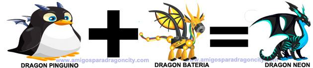 como sacar el dragon neon en dragon city combinacion 4