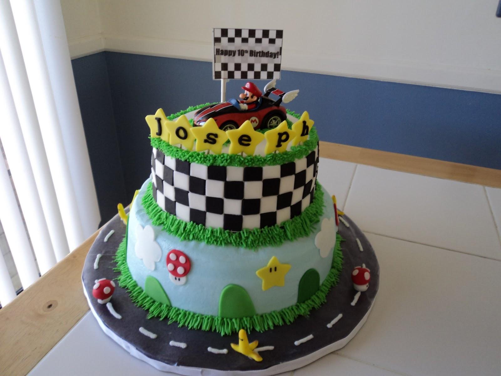 Sweetdesigns Mario Kart Cake