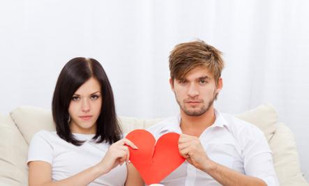 How Conflict Can Create Love - heart broken breakup