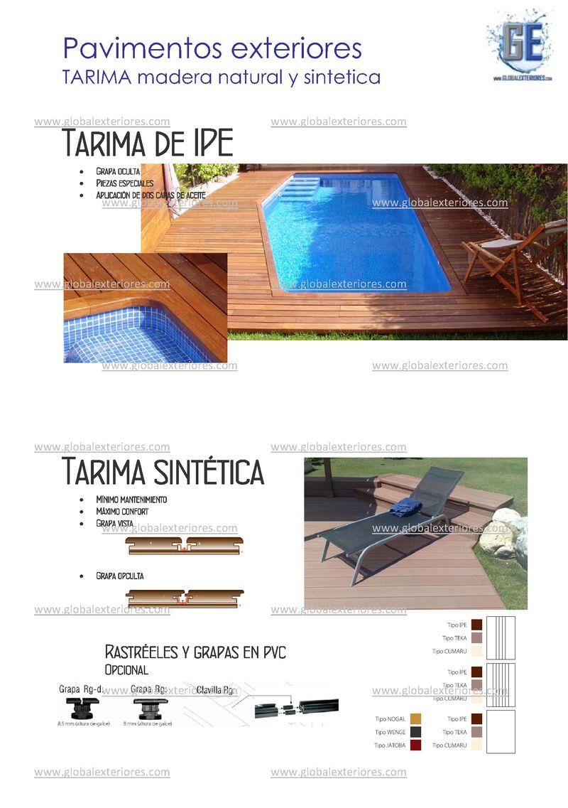 Global exteriores pavimentos exteriores y piscina for Hablemos de piscinas