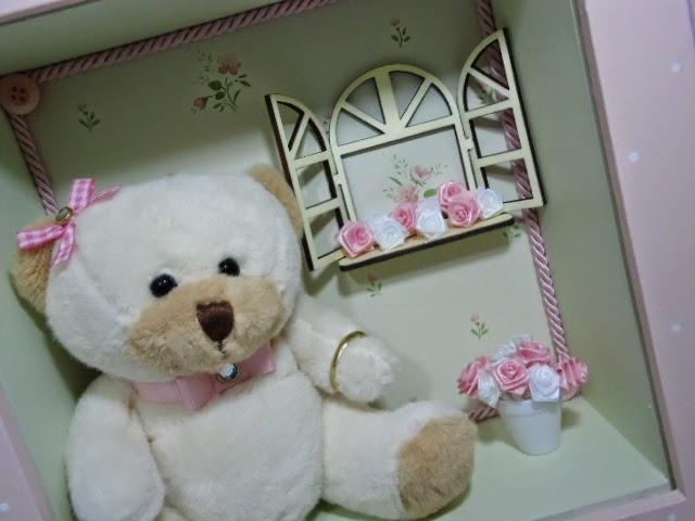 ursinhos para quarto de bebê