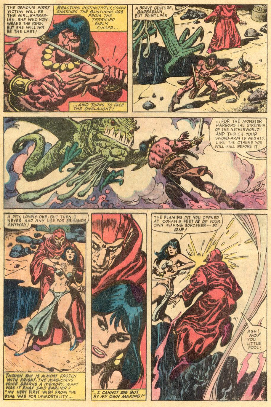 Conan the Barbarian (1970) Issue #131 #143 - English 21