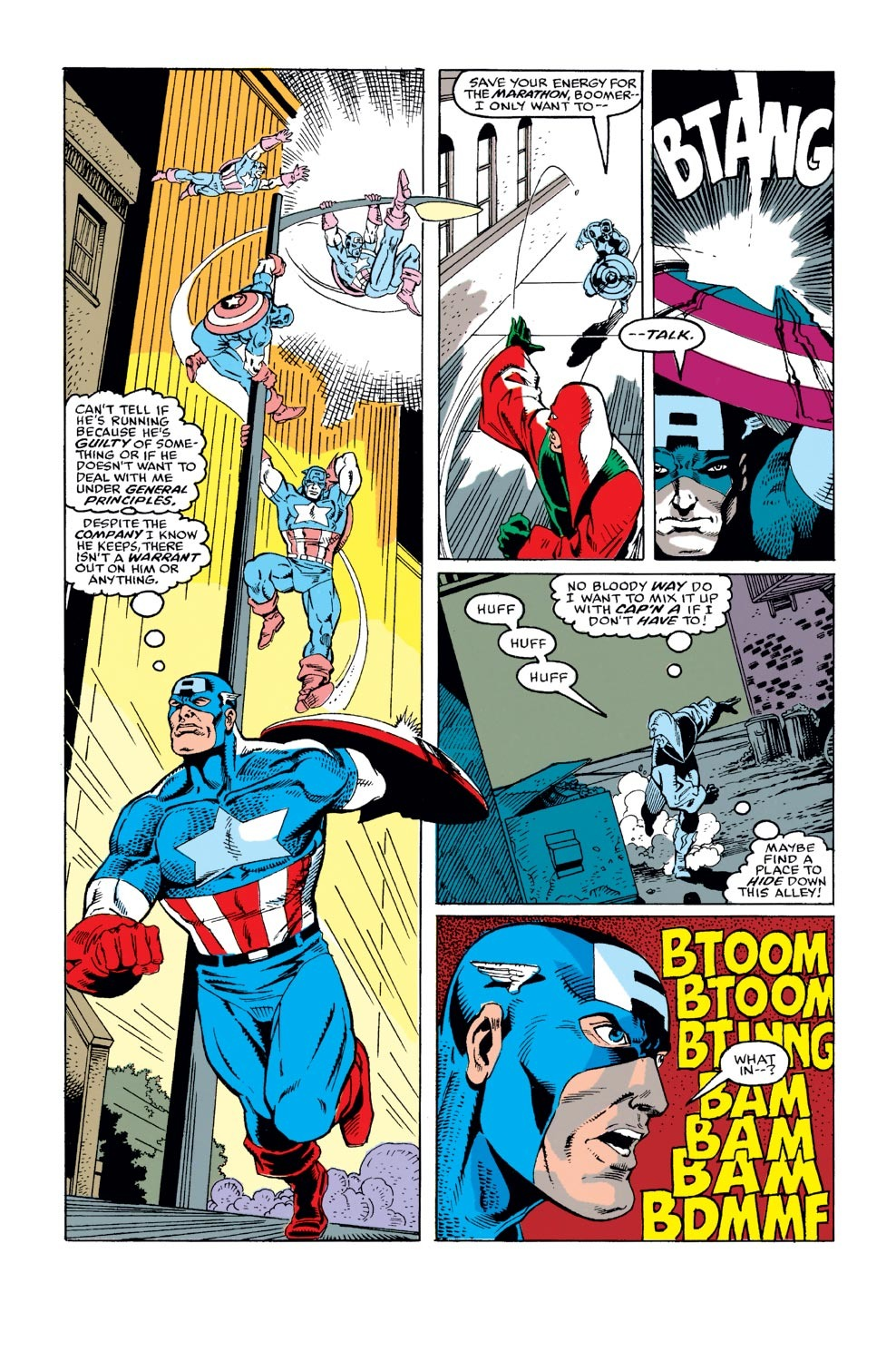 Captain America (1968) Issue #372 #305 - English 4