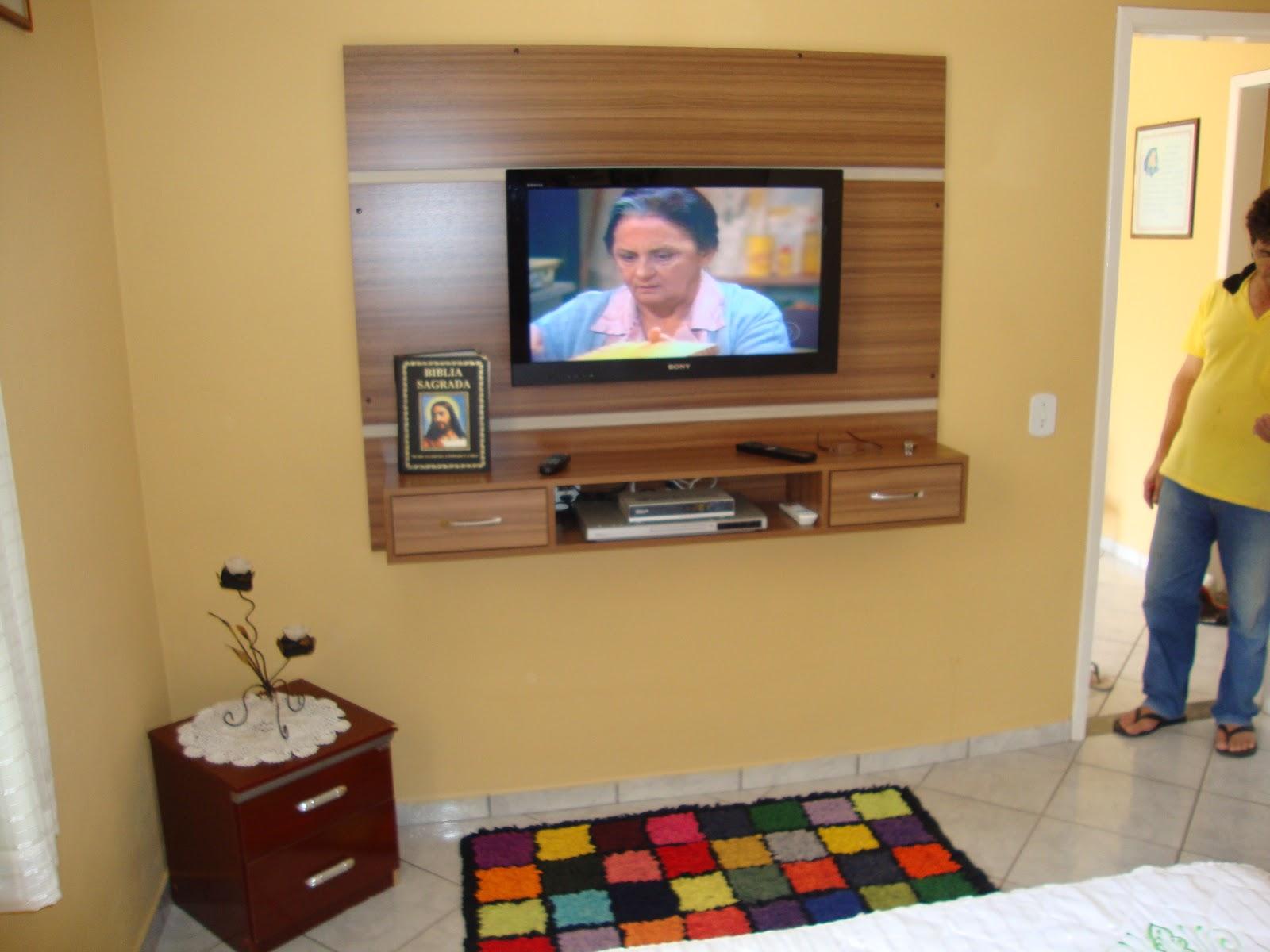 Ideias De Painel Para Tv No Quarto ~   de M?veis e Esquadrias Rio Grande LTDA  Painel para TV no quarto