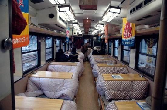 keretapi-kotatsu-di-jepun