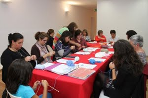 Workshop de crochet, início 22 de Janeiro 2016, Lagoa