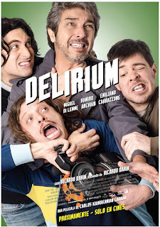 Delirium (2014) Comedia con Ricardo Darín