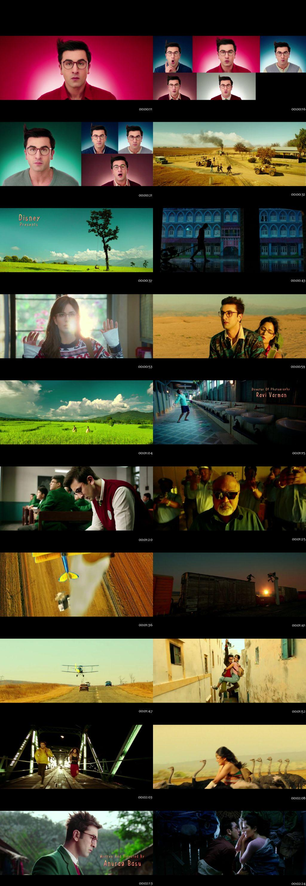 Screenshots Of Jagga Jasoos 2017 Theatrical Official Trailer Free Download HD 720P