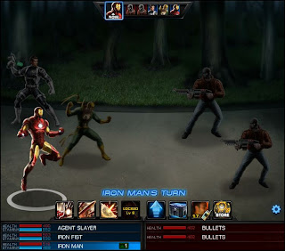 Marvel Avengers Alliance Combat Screen shot iron man 