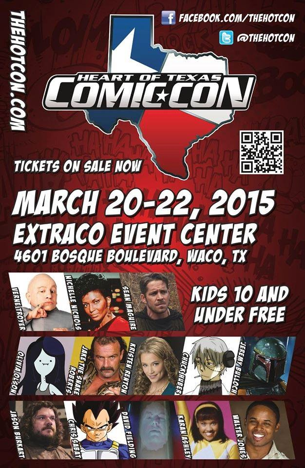 The Heart Of Texas Comic Con 2015