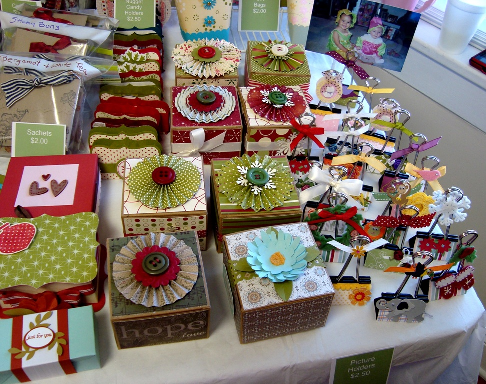 Stampin for me my bazaar craft fair for Country christmas craft show