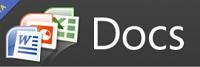 Logo serwisu Docs.com