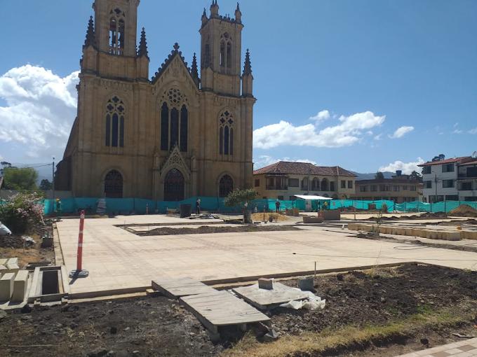 Con remodelación del parque Ramón Ignacio Avella, Firavitoba Sigue Avanzando en su desarrollo integral