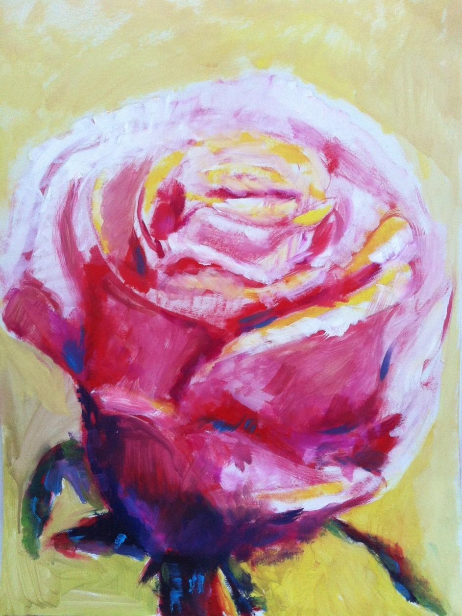 Atelier soeff schilderij van gerald olieverf - Associatie van kleur e geen schilderij ...