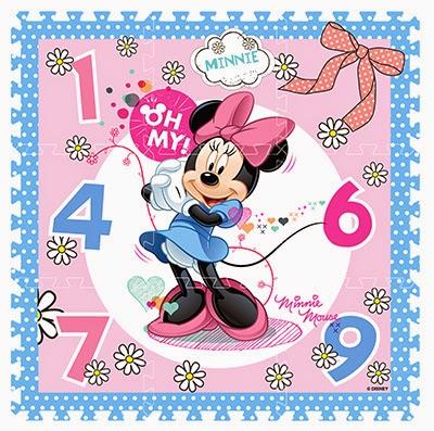 Minnie à dominante « rose »