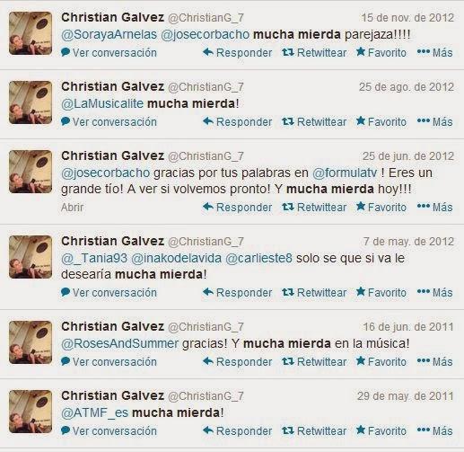 Christian Gálvez, mucha mierda, mucho párking lleno