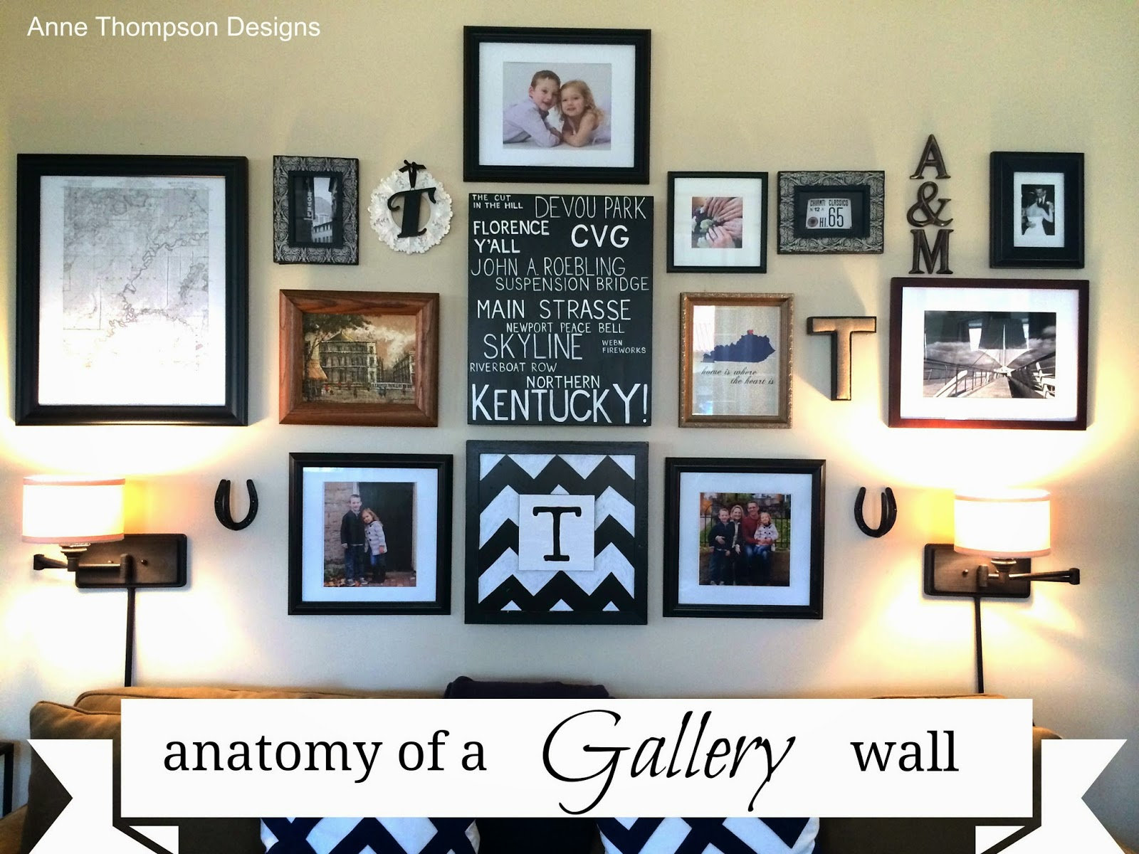 Because Home Should Be Great Anatomy Of A Diy Gallery Wall