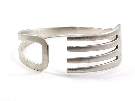 Ismael joyeros pulseras tenedor for Pulsera tenedor