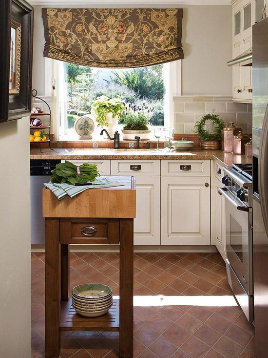 Fotos de cocinas peque as con isla ideas para decorar - Isla para cocinas pequenas ...