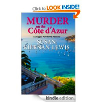 Murder on the Côte d'Azur (Maggie Newberry Mysteries) by Susan Kiernan-Lewis