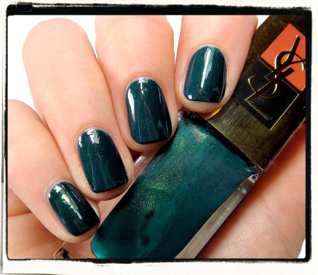 Yves Saint Laurent Wintergreen - Nailderella