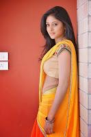 Sushma Raj Looks Beautiful Closeups in Saree and Stomach Chain Jewellery