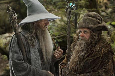 """Review de """"El Hobbit:  Un viaje inesperado"""" - Gandalf y Radagast"""