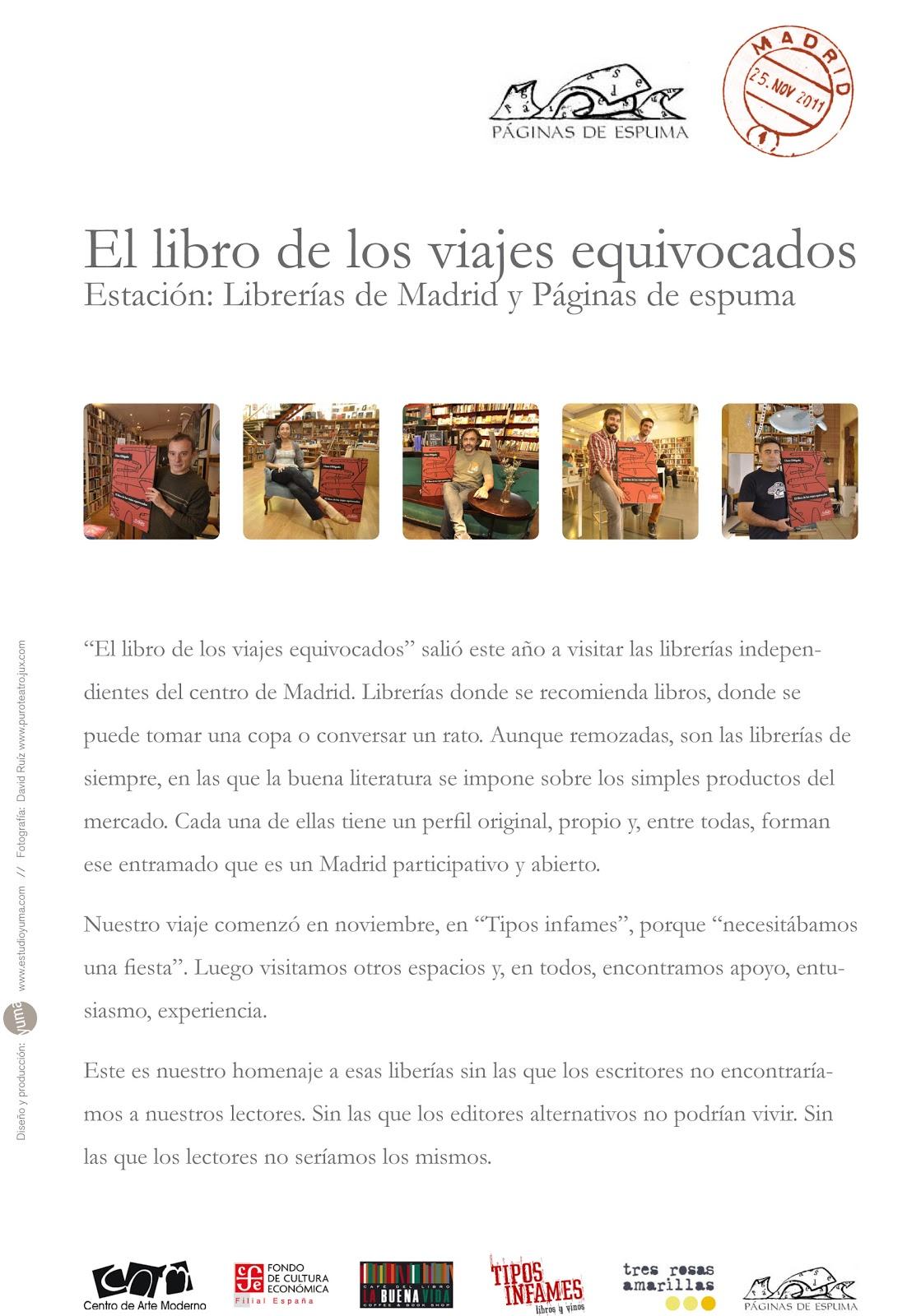 Escritura creativa las librer as independientes en madrid - Librerias a medida en madrid ...