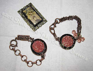 Copper Druzy Bracelets