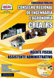 Apostila Concurso CREA - RS 2014.