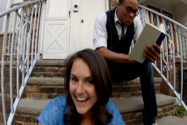 Katarina Hughes and RayMartell Moore in The Death of April
