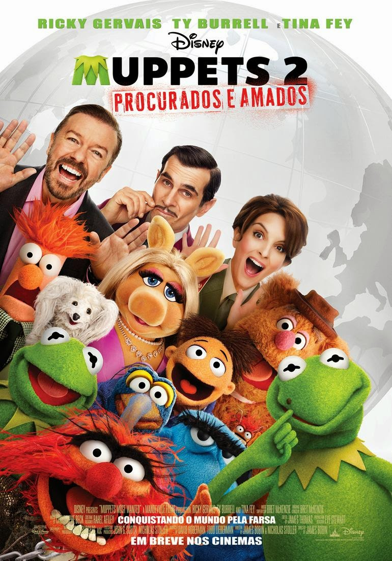 Muppets 2: Procurados e Amados 2014