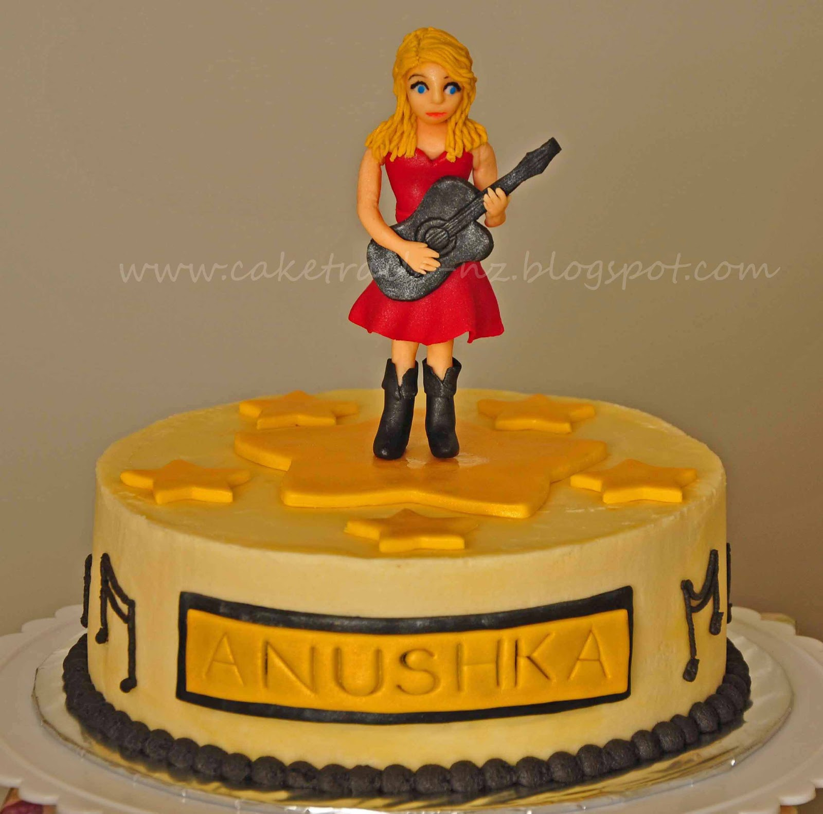 Cake Trails Taylor Swift Birthday Cake