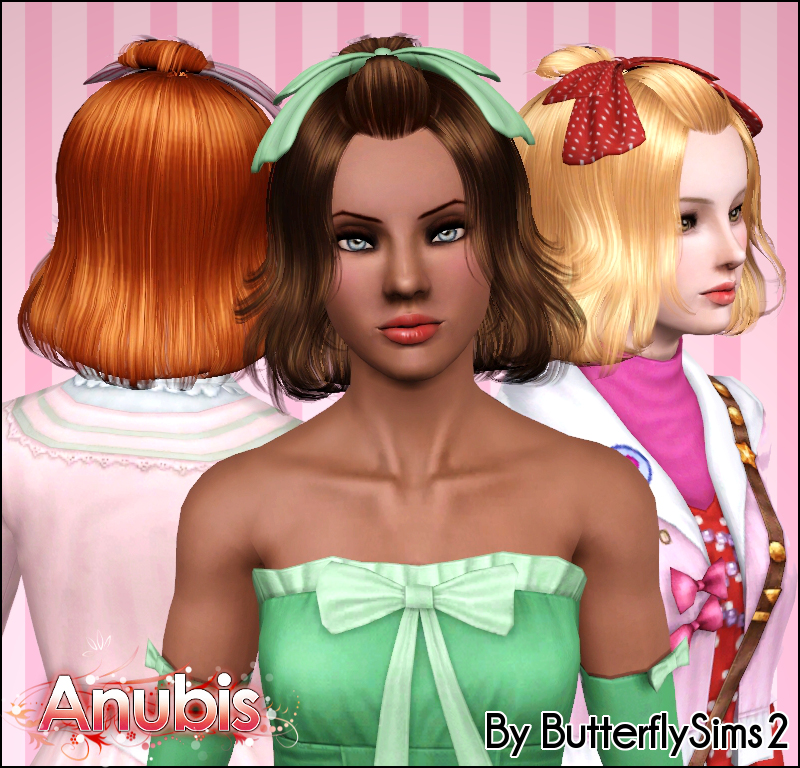 the sims 2 hairstyle. Butterfly Sims2 Hair 015