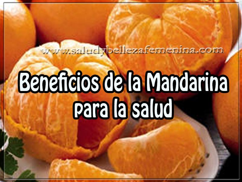 Salud y bienestar , beneficios de la mandarina para la salud