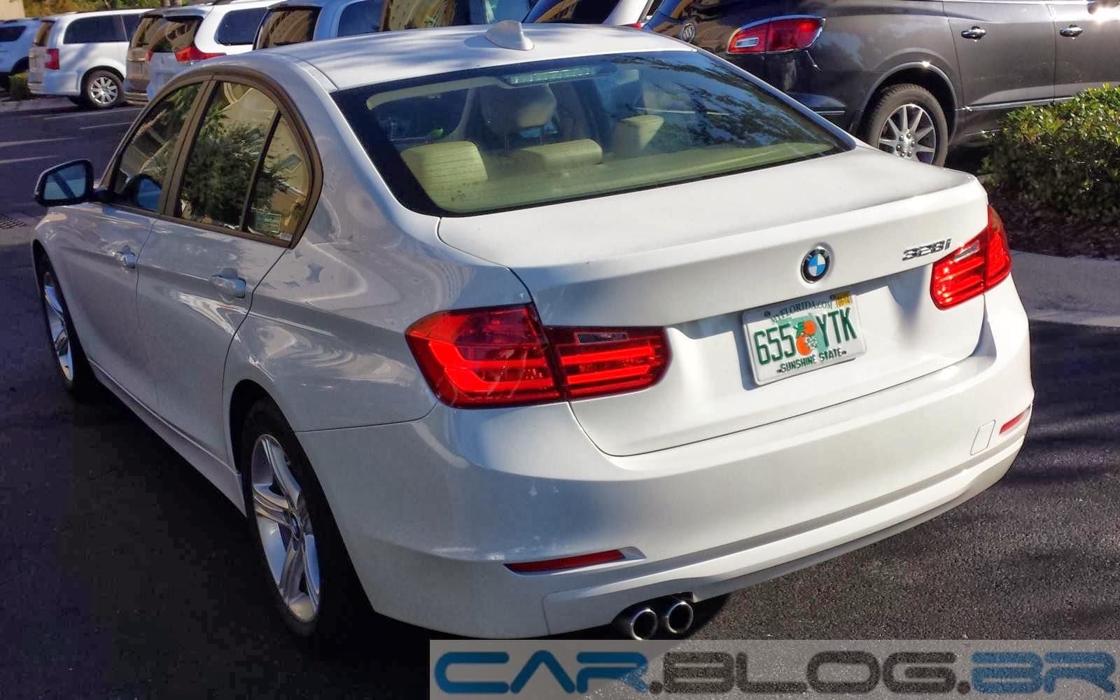 Novo BMW 328i 2015