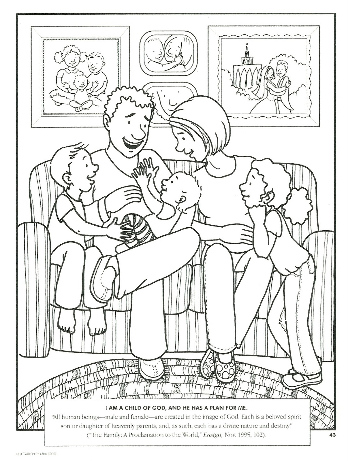 i am special coloring pages - photo #48