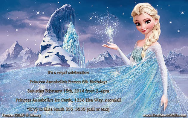 Free Disney Frozen Birthday Invitations ~ Grateful for the ride disney frozen birthday party