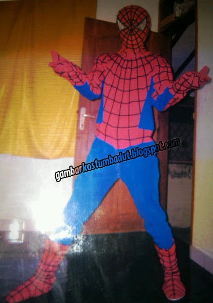 spiderman badut gaya
