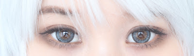 Natural Big Eye Lenses : Beuberry Grey Circle Lenses