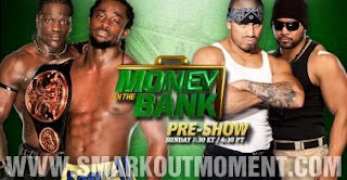 Watch WWE Money in the Bank 2012 PPV on YouTube Preshow Tag Team Championship