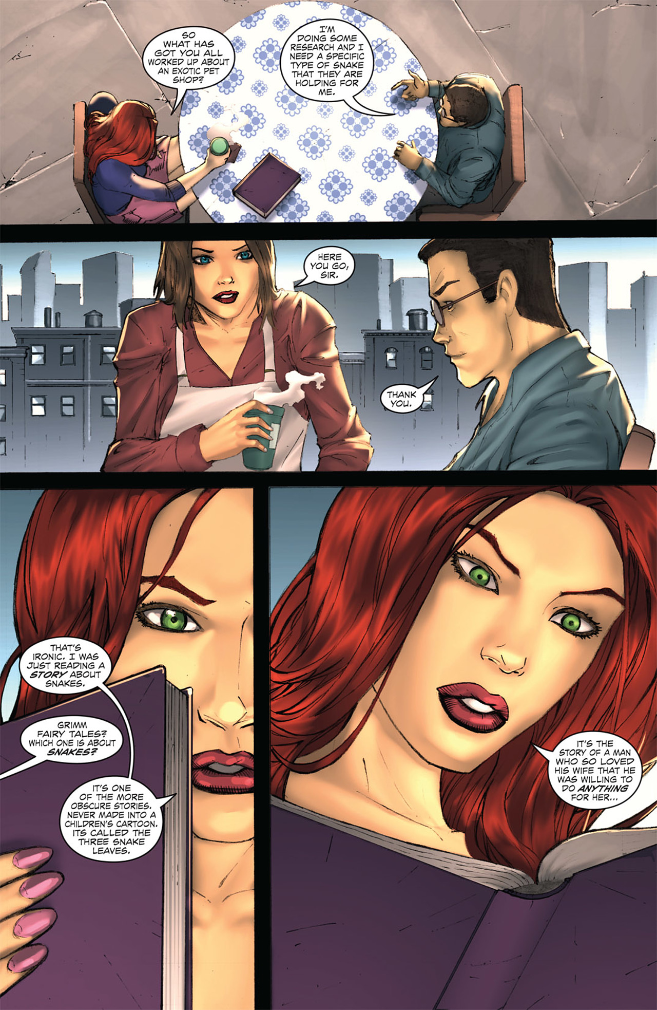 Grimm Fairy Tales (2005) Issue #33 #36 - English 7