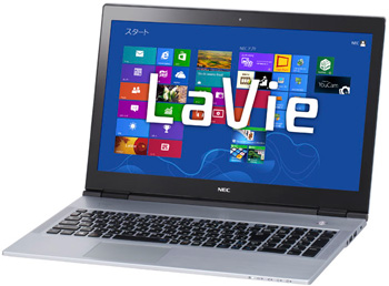 NEC LaVie X (LX850/JS) 15.6-Inch Ultrabook