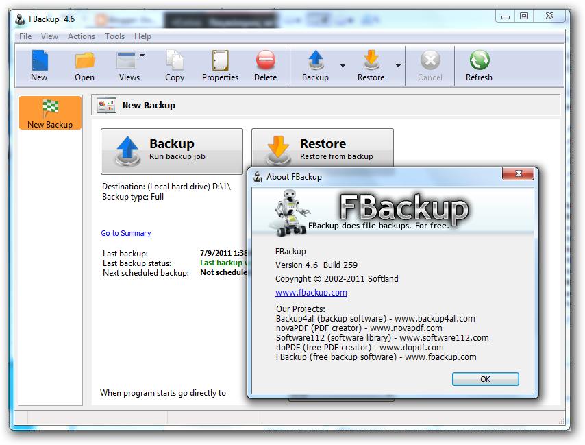 WatFile.com Download Free Download FBackup 5 0 396 Free Version ~ Game4Soft