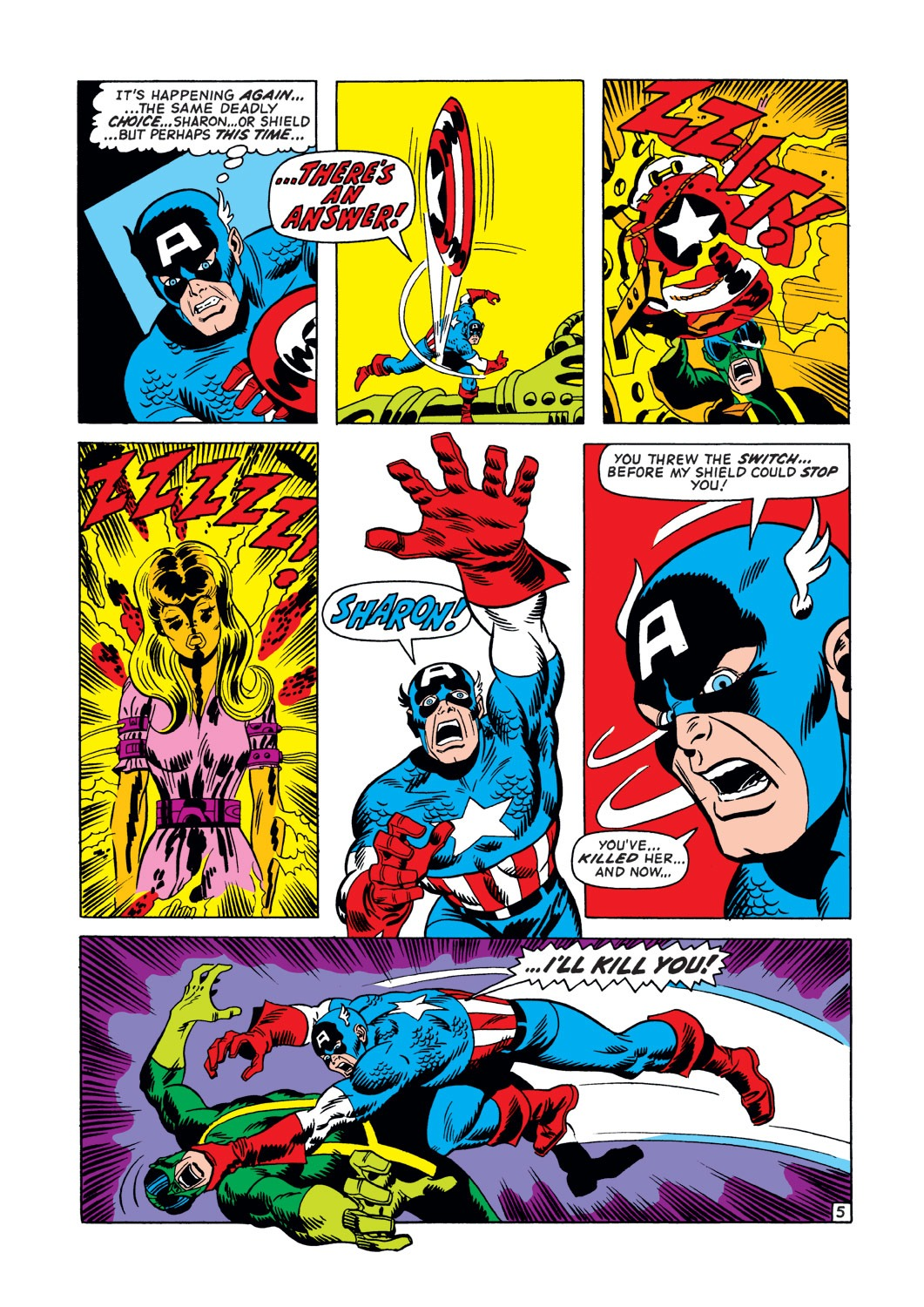 Captain America (1968) Issue #147 #61 - English 6