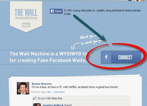 Cara Membuat Dinding Percakapan Facebook