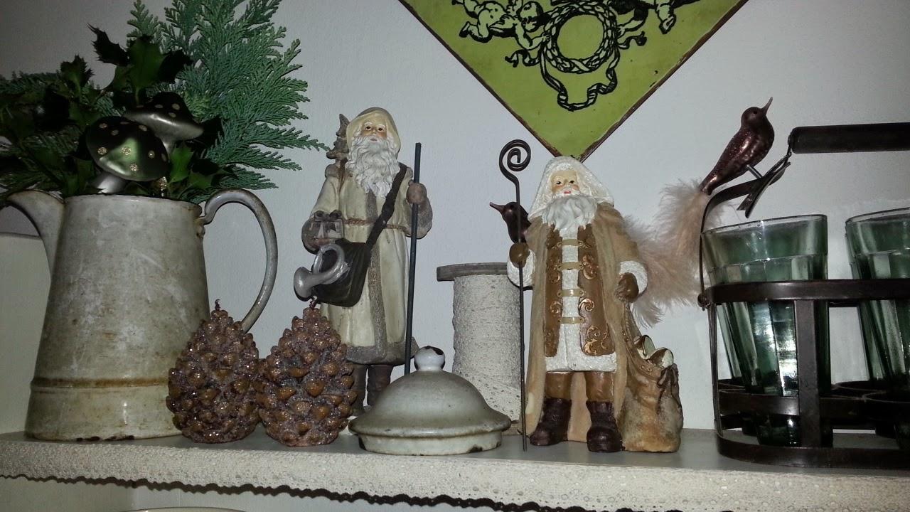 Shabby house and garden weihnachten zieht ein in unser for Wandregal dekorieren