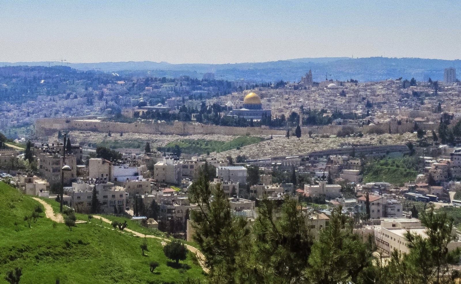 Jerusalem from the Mount of Olives / Souvenir Chronicles