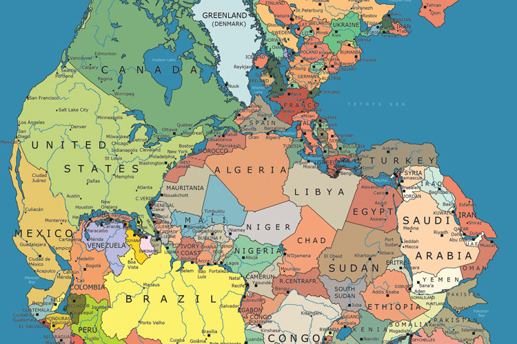 pangea supercontinent Pangea - about 250 million years ago, scientists believe the seven continents of the world were connected into one supercontinent known as pangaea  the east.
